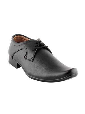 Smart wood  SWMM-2503 Black Men Formal shoes