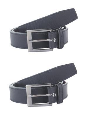 SRS San002 Black Men Belt Combo Pack