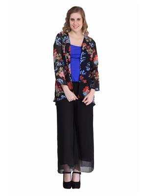 Sierra Si 325 Multicolored Women Shrug