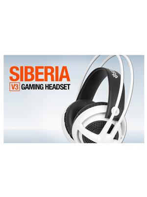 Steelseries Siberia V3 White Headphone