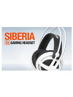 Steelseries Siberia V3White Headphone