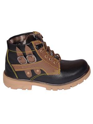 Moody Skemoody Black Boys Boots