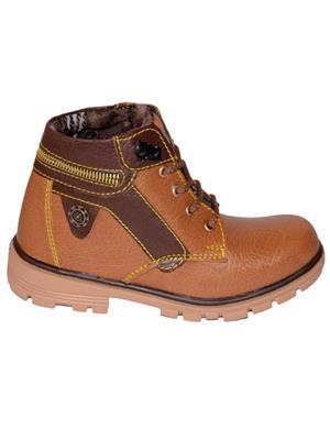 Moody Skemoody Tan Boys Boots