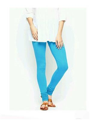 Dyed 7 Sky Blue Women Legging
