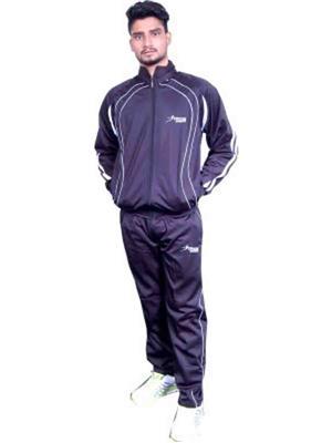 Troos Solid-11 Blue Men Track Suits