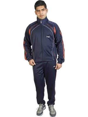 Troos Solid-12 Blue Men Track Suits