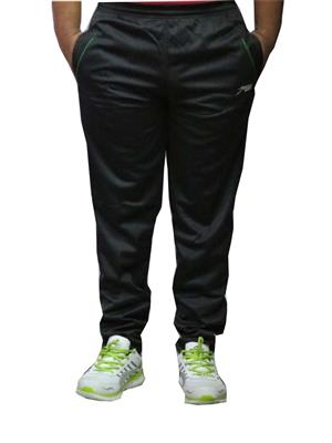 Troos Solid-9 Black Men Track Pants