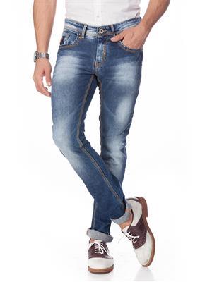 Spykar ACT-W14-31 Blue Men Jeans