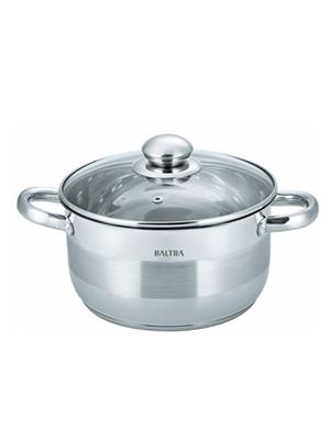 Baltra Stainless Casserole With Glass