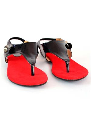 Stepee S02 Black Women Sandals
