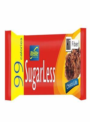 RiteBite Sugarless 99 Cal Choco lite Pack of 6,162 gm