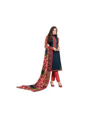 Taj Boutique T-20  Multicolored Women Dress Materials