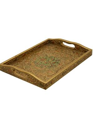 The Royal Heritage T-4 Brown Table & Cutlery Tray