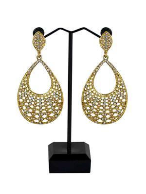 Traditional 2 Trendy T2T841020 White Women Alloy Metal Handwork Earring