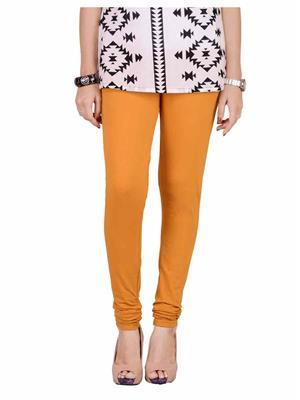 Traditional 2 Trendy T2TSL22C6K2 Mustard Light Women Leggings & Jeggings