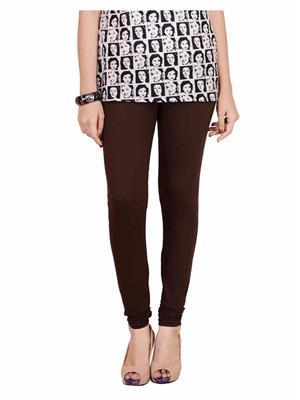 Traditional 2 Trendy T2TSL27CSVM Browine Women Leggings & Jeggings