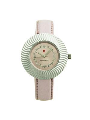 Swiss Bells  TA-579pdpstrap Pink Women Analog Watch