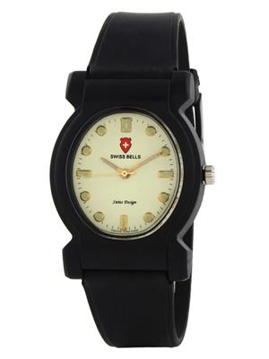 Swiss Bells  TA-663WDBlkStrap white Women Analog Watch