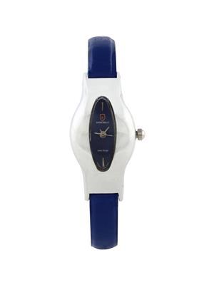 Swiss Bells  TA-670BDBStrap Blue Women Analog Watch
