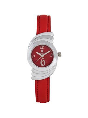 Swiss Bells  TA-692RDRStrap Red Women Analog Watch