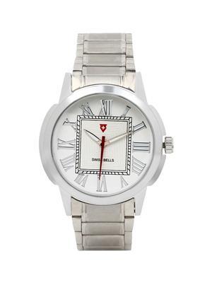 Swiss Bells  TA-699WDStCh White Men Analog Watch