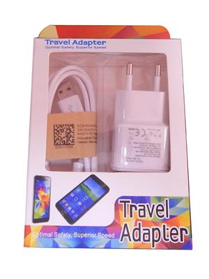 Travel Adapter TA01 White Car Charger