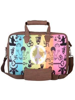 The Backbencher TBBLB305 Brown Messenger  Bag