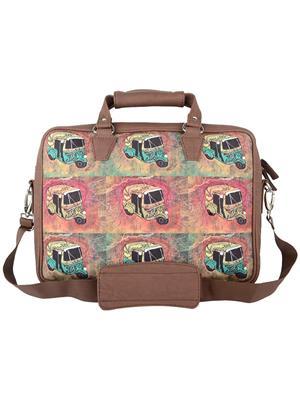 The Backbencher TBBLB306 Brown Messenger Bag