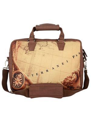The Backbencher TBBLB328 Brown Messenger Bag