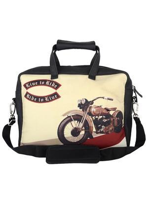 The Backbencher TBBLB329 Black Messenger Bag