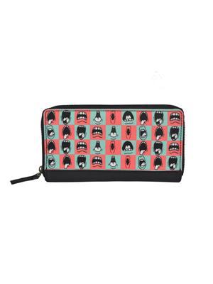 The Backbencher TBBLW104 Blue/Pink Women Wallets