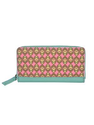 The Backbencher TBBLW106 Pink/green Women Wallets