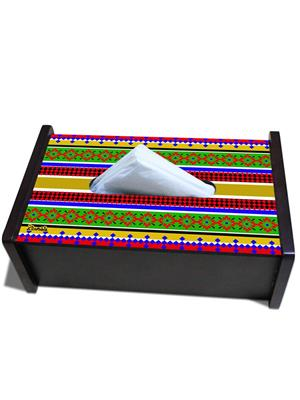 Kolorobia TBEL03  Colorful Aztec Tissue Box