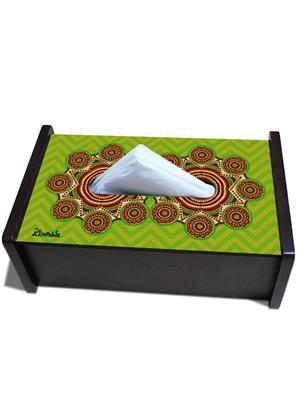 Kolorobia TBMA05 Madhubani Art Tissue  Box