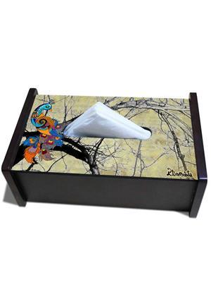 Kolorobia TBP11 Kolorobaia Peacock cream Tissue Box