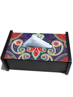 Kolorobia TBPA06  Paisley Tissue Box