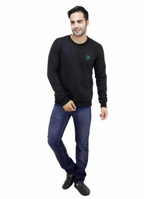 Trendy Bandey TBS-08BLK Black Men Sweatshirt