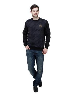 Trendy Bandey TBS-15503BK Black Men Sweatshirt