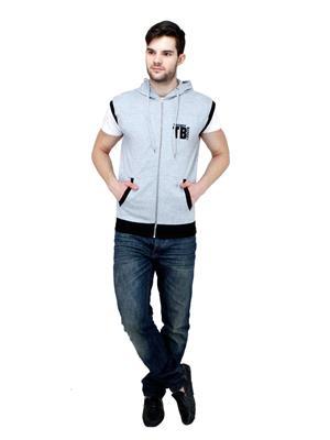 Trendy Bandey TBS-15509GR Grey Men Sweatshirt