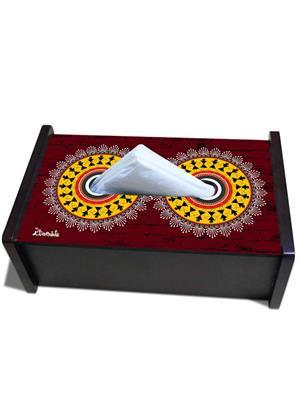 Kolorobia TBWA01  Warli Art Tissue Box