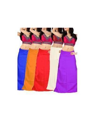 Track Deal Tdpt081 Multicolor Women Peticoat Combo 5