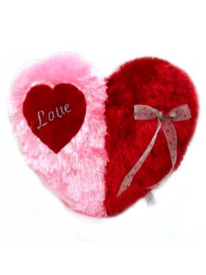 Touchy Exports TE-01 Red / Pink Baby Touchy Toys Valentine Heart Cushion