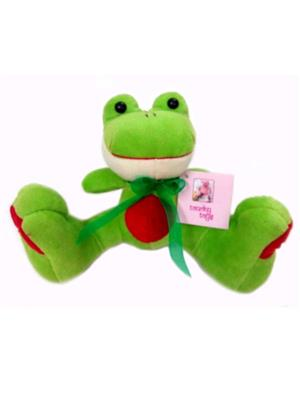 Touchy Exports TE-24 Green Baby Touchy Toys Big Foot Frog Car Hanging
