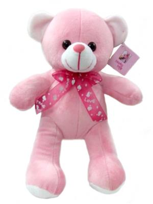 Touchy Exports TE-26 Pink Baby Touchy Toys Teddy