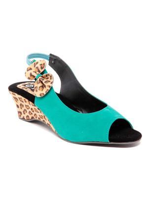 TEN TENSanotgrn01 Green Women Sandal