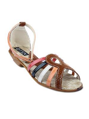 TEN TENSanpumcbrw03 Brown Women Sandal