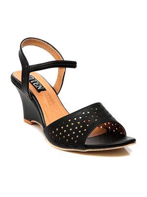 Ten wgtb-577lk03 Black Women Heels
