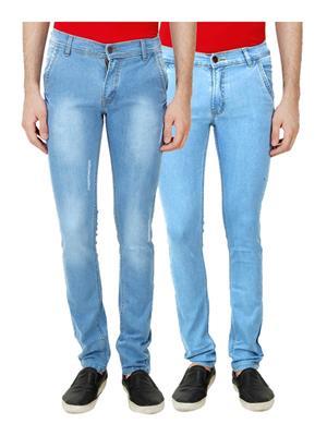 Ansh Fashion Wear TJ-CP-3-ACTIVA Multicolored Men Jeans