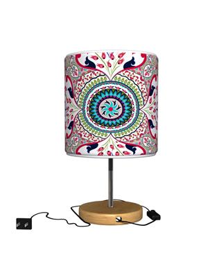 Kolorobia TLMPTU12 Splendor Turkish Red Table Lamp