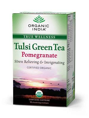 Tulsi 15 Pomeogranate 18 TB Tea
